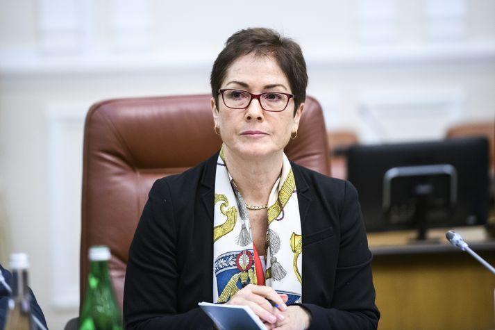 Marie Yovanovitch var sendiherra BNA í Kænugarði 2016-2019.