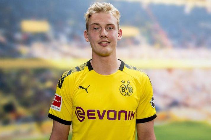 Julian Brandt í búningi Borussia Dortmund.