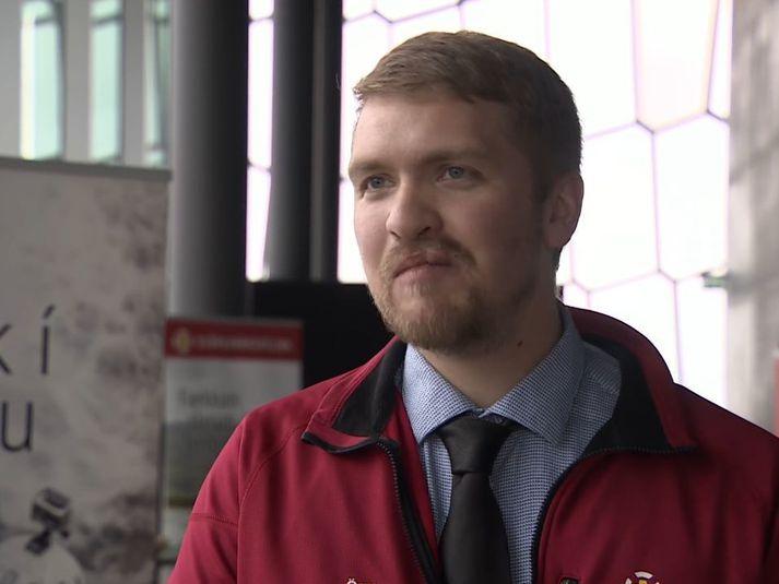 Örn Smárason er verkefnastjóri sjóbjörgunar hjá Slysavarnafélaginu Landsbjörg