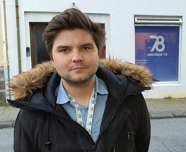 Daníel E. Arnarsson, framkvæmdastjóri Samtakanna '78.