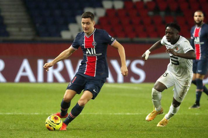 Ander Herrera gekk í raðir Paris Saint-Germain frá Manchester United 2019.