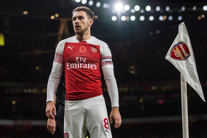 Ramsey í leik með Arsenal.