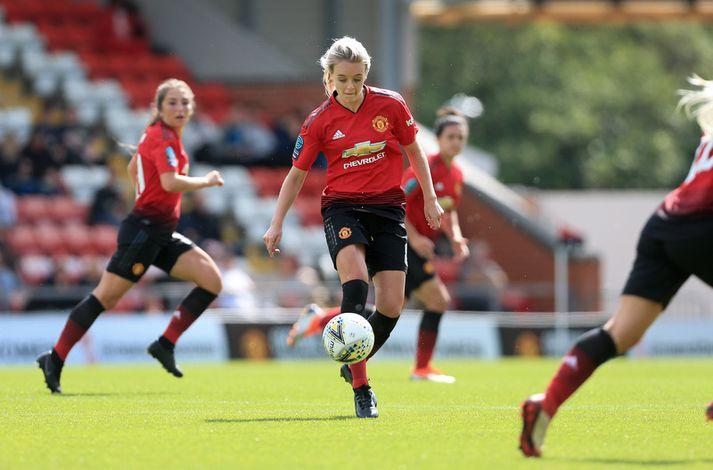 Mollie Green er leikmaður Manchester United.