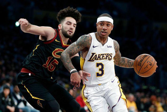 Thomas í leik með Lakers í vetur