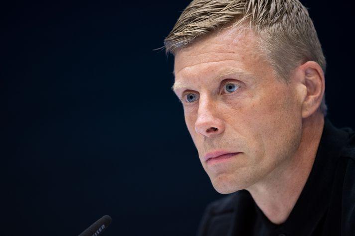 Guðjón Valur Sigurðsson tók við þjálfun Gummersbach í sumar.