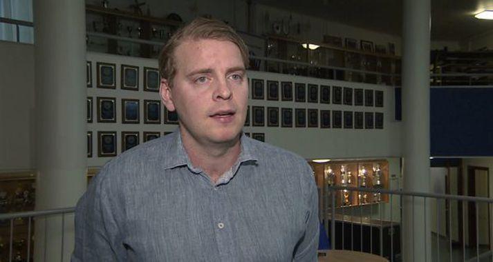 Jóhann Gunnar telur að íslenska liðið eigi að vinna Marokkó nokkuð örugglega í kvöld.