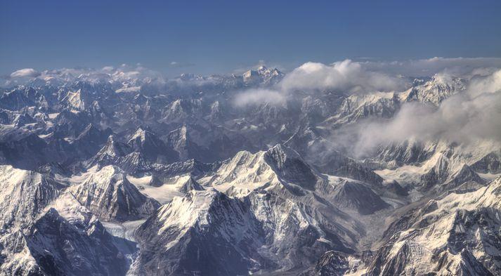 Ísbreiða Himalajafjallanna er mikilvæg fyrir tvo milljarða íbúa á HKH-svæðinu.