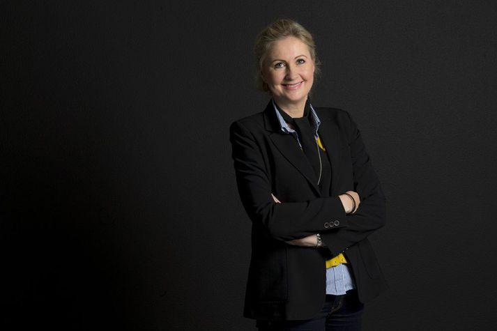 Helga Árnadóttir, framkvæmdastjóri hjá Bláa lóninu.