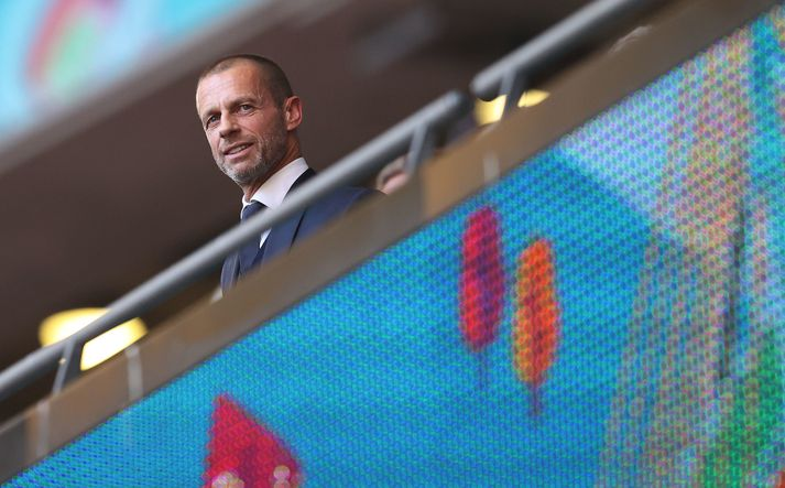 Aleksander Ceferin, forseti evrópska knattspyrnusambandsins, UEFA.