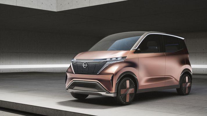 Nissan IMk er borgarbíll framtíðarinnar að sögn Nissan.