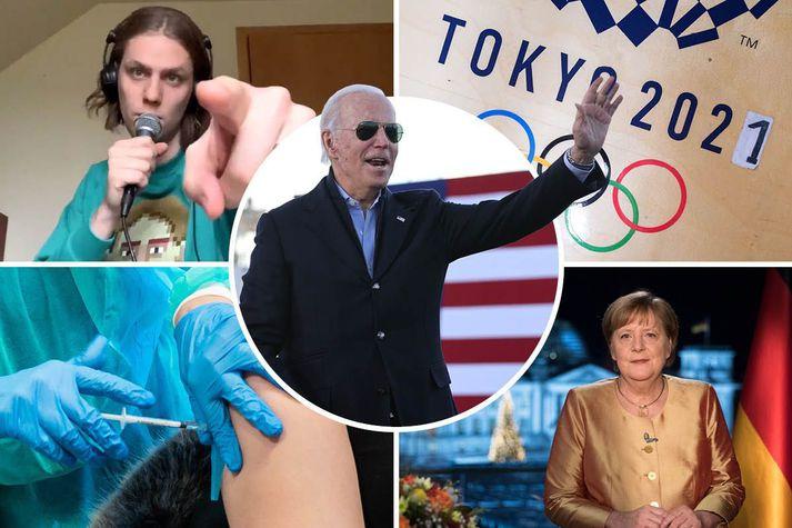 Strax í janúarmánuði mun Joe Biden taka við embætti Bandaríkjaforseta.