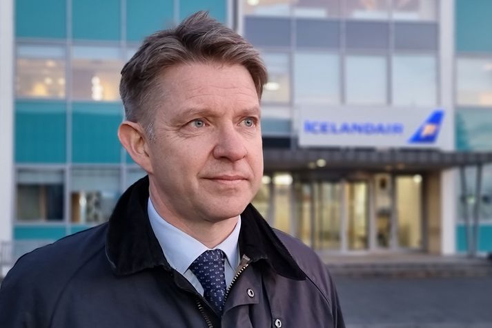 Bogi Nils Bogason, forstjóri Icelandair, er nokkuð bjartsýnn á horfurnar fyrir sumarið.