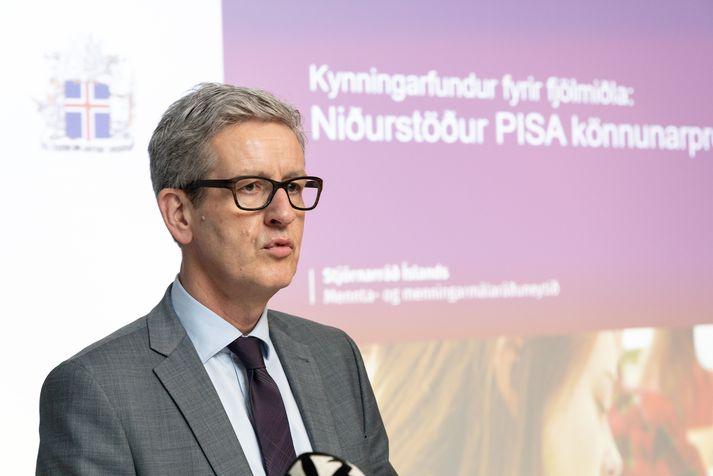 Arnór Guðmundsson er forstjóri Menntamálastofnunar.