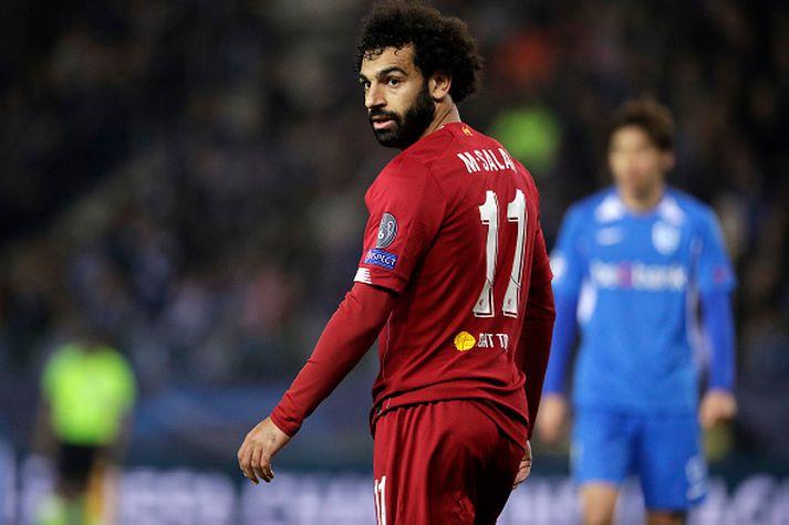 Salah og félagar verða í eldlínunni í kvöld.