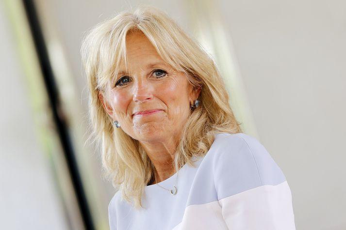 Jill Biden er hámenntaður kennari og hyggst halda áfram störfum eftir að eiginmaður hennar sver embættiseið.