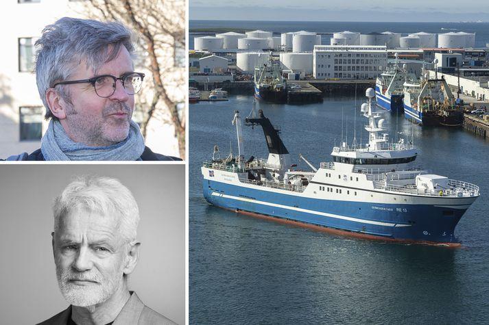 Þeir Gunnar Smári og Kári telja það blasa við að stjórnmálamenn séu að færa útgerðarmönnum óheyrilega fjármuni á silfurfati.