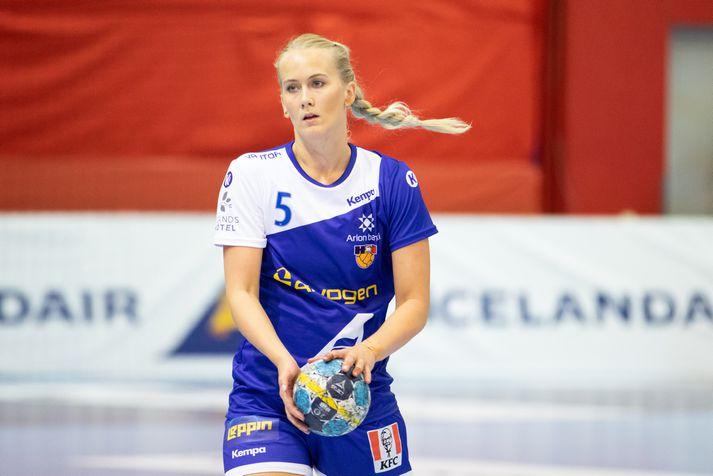 Rut Jónsdóttir varð danskur meistari með Esbjerg í fyrra.