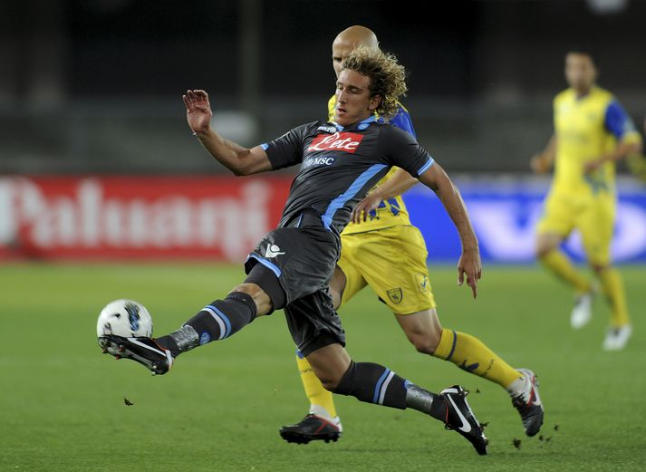 Ignacio í leik með Napoli í Serie A