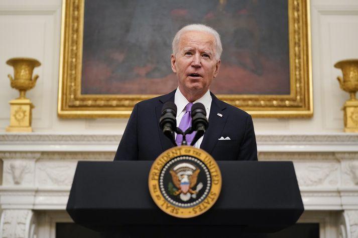 Joe Biden, forseti Bandaríkjanna.