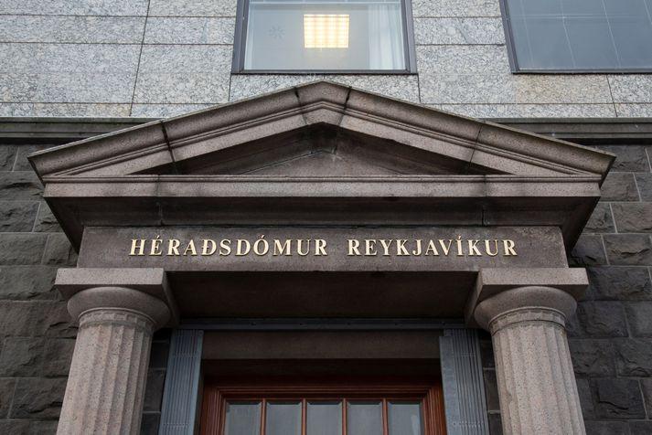 Dómurinn féll í Héraðsdómi Reykjavíkur í gær.
