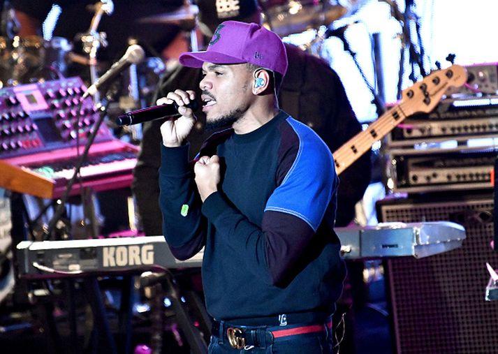 Chance The Rapper gerði lag með R. Kelly árið 2015.