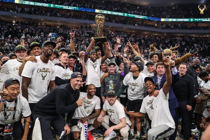 Milwaukee Bucks er NBA-meistari 2021.