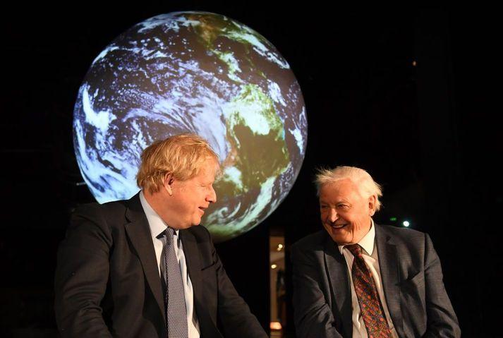David Attenborough mun funda með leiðtogum G7 ríkjanna í dag.