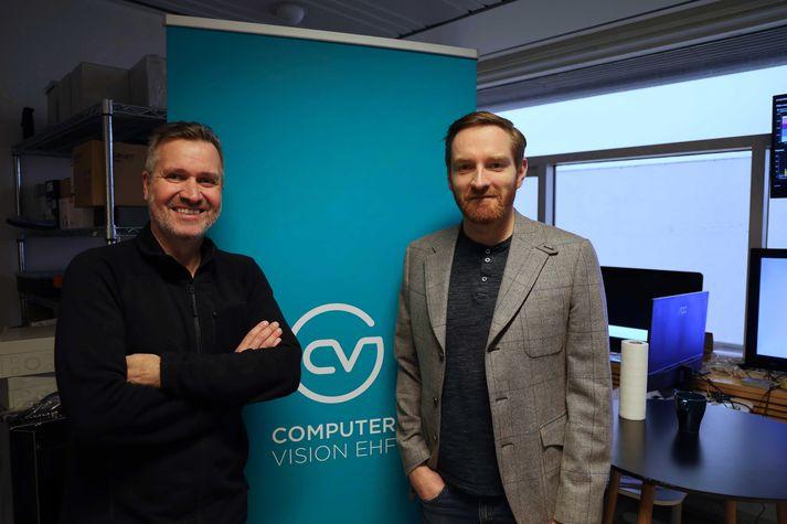 Ársæll Baldursson framkvæmdastjóri Computer Vision og og Ægir Finnsson tæknistjóri.