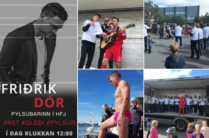 Friðrik Dór er einn ástsælasti söngvari þjóðarinnar.
