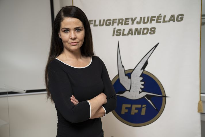 Berglind Hafsteinsdóttir, formaður Flugfreyjufélags Íslands.