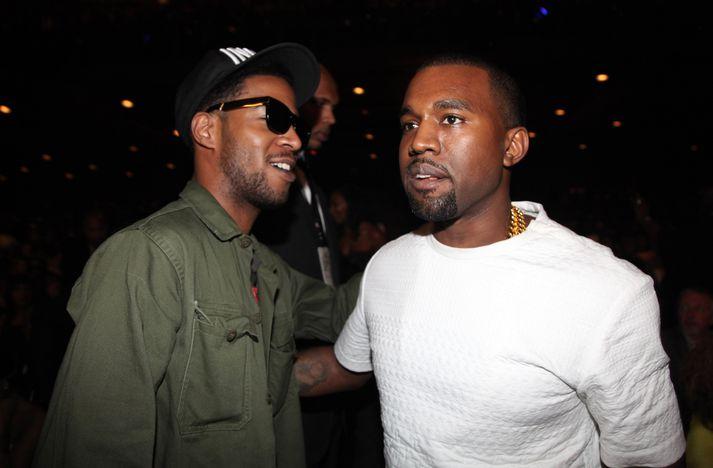Kid Cudi og Kanye West vinna nú saman að tónlist.