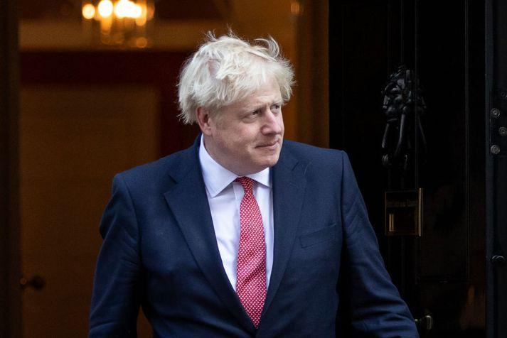 Boris Johnson er nú á leið til New York á allsherjarþing Sameinuðu þjóðanna.