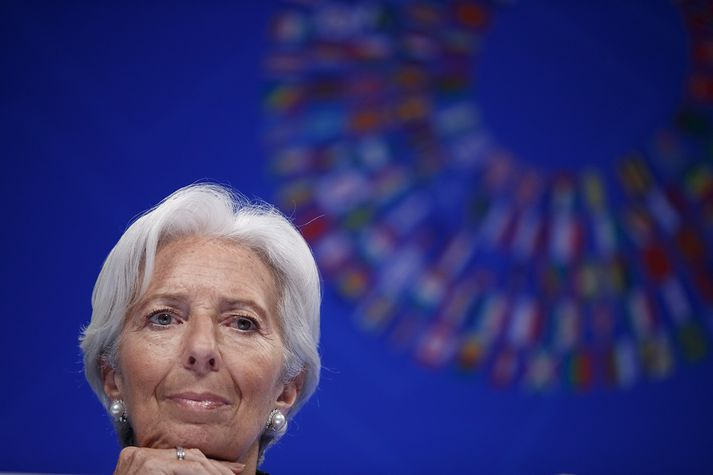 Lagarde, forstjóri Alþjóðagjaldeyrissjóðsins.