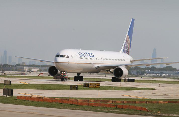 United Airlines er eitt stærsta flugfélag Bandaríkjanna.