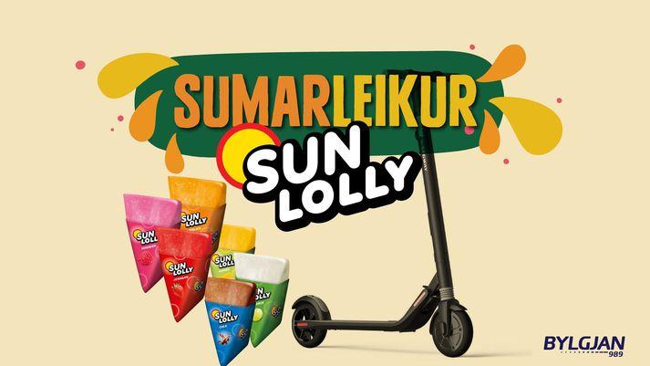 Sumarleikur Sun Lolly og Bylgjunnar