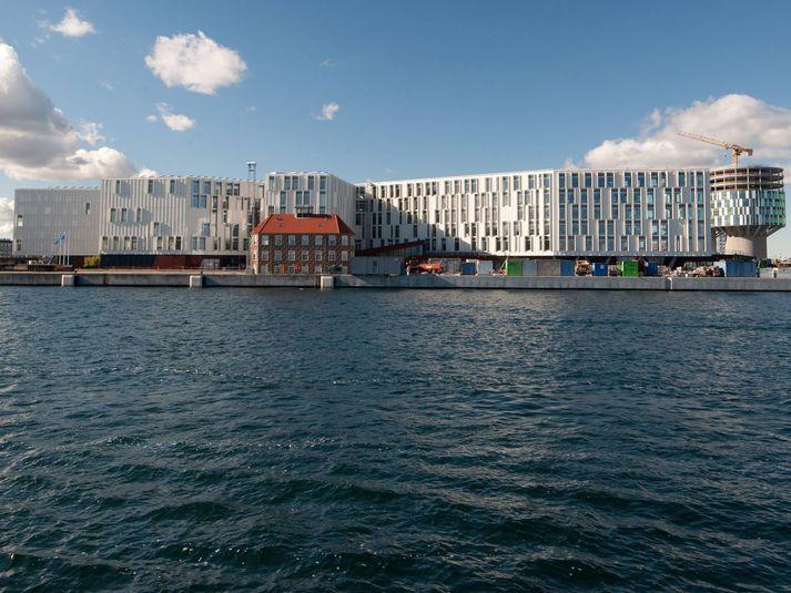 UN City í Kaupmannahöfn þar sem útboðsþingið fer jafnan fram.
