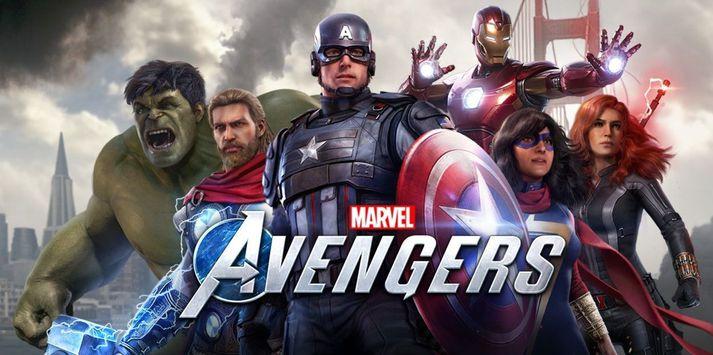 Hetjurnar í Marvel's Avengers.