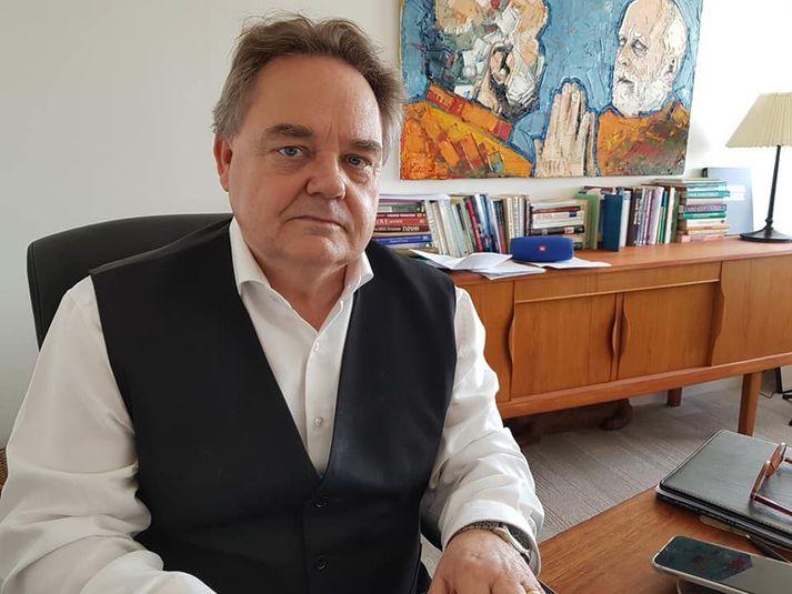 Andrés Proppé Ragnarsson, sálfræðingur, rekur verkefnið Heimilisfrið.