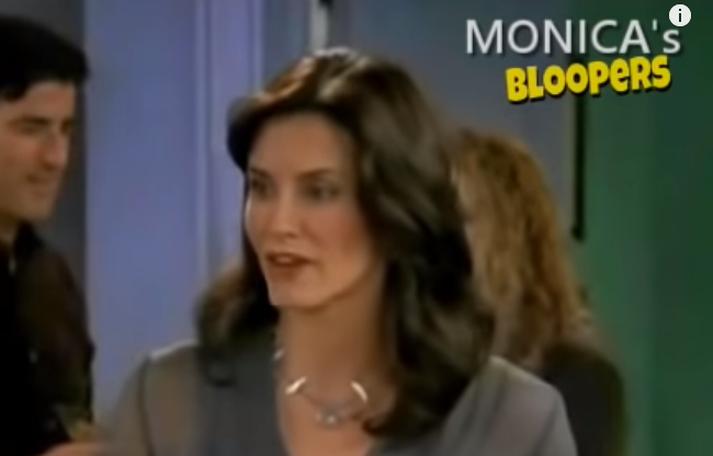 Cox var frábær sem Monica.