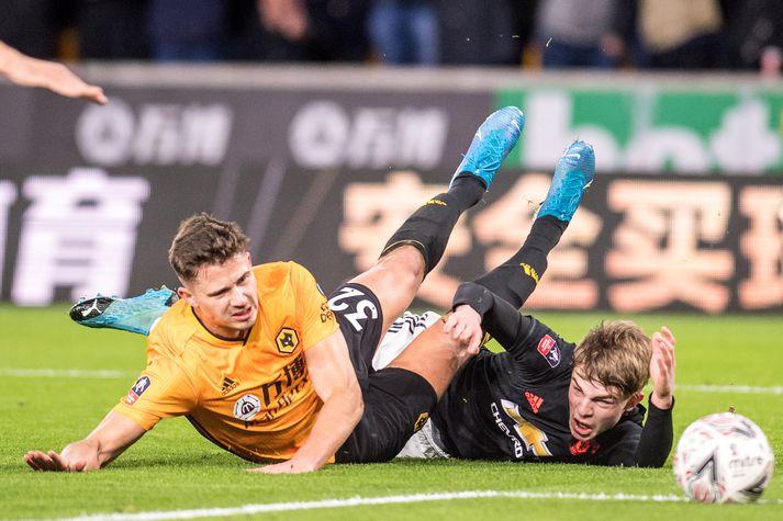 Sigurvegarinn í leik Manchester United og Wolves mætir Watford eða Tranmere Rovers í 4. umferð ensku bikarkeppninnar.