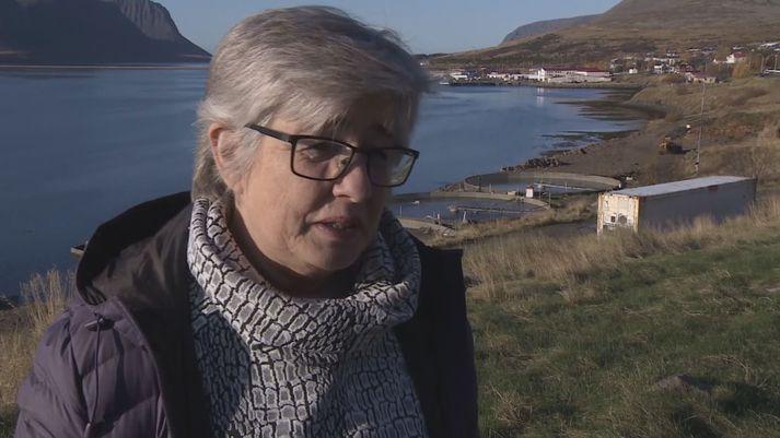 Bryndís Sigurðardóttir, sveitarstjóri Tálknafjarðar.