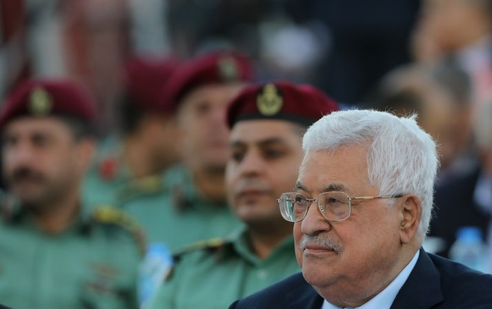 Mahmoud Abbas, forseti Palestínu.