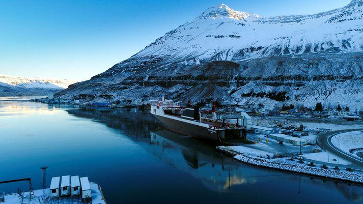 Talin er hætta á skriðuföllum á Seyðisfirði.