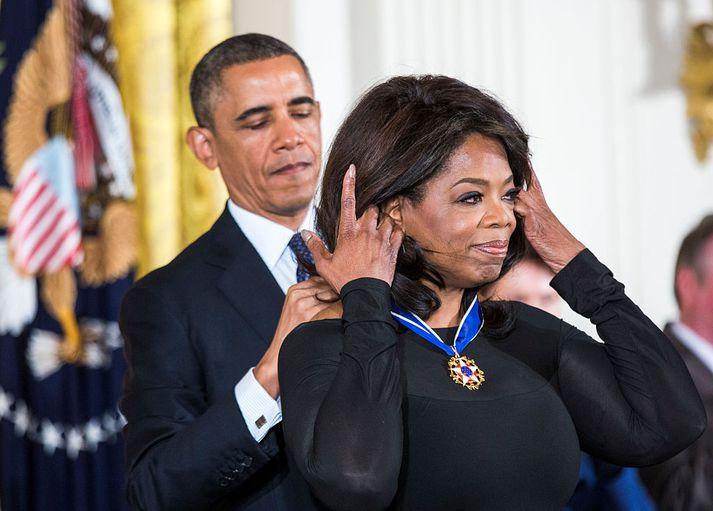 Mun Oprah Winfrey feta í fótspor Barack Obama?