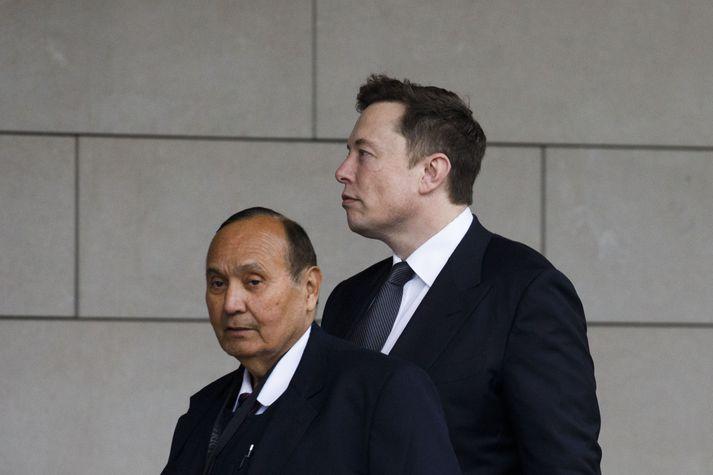 Elon Musk mætir í dómshúsið í vikunni.
