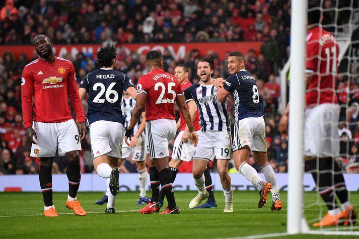 Jay Rodriguez tryggði ekki bara West Brom þrjú stig heldur færði hann Manchester City titilinn.