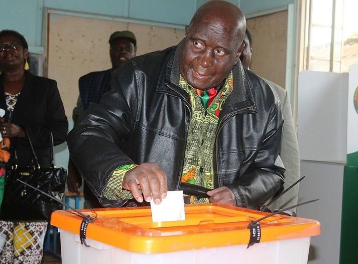 Kenneth Kaunda var forseti Sambíu frá 1964 til 1991.