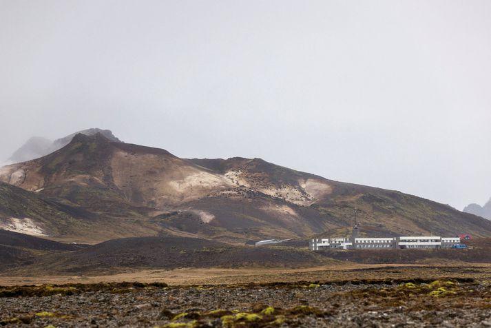 Upptök skjálftans á þriðjudag, sem mældist 5,6, voru á Núphlíðarhálsi, skammt frá Krýsuvík.