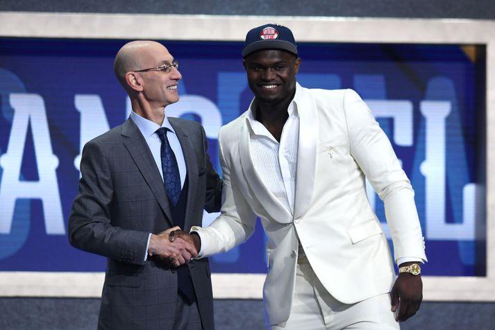 Zion Williamson er kominn í NBA deildina