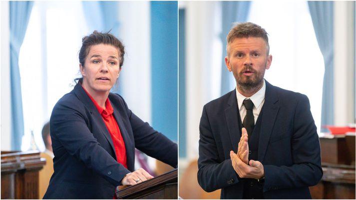 Helga Vala Helgadóttir og Ágúst Ólafur Ágústsson eru þingmenn Samfylkingarinnar fyrir Reykjavíkurkjördæmin.